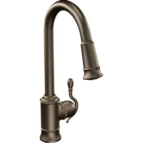 Single Handle Kitchen Faucet by Moen Woodmere Single Handle Single Kitchen Faucet