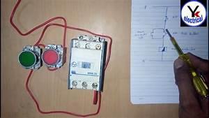 House Motor Starter Wiring   Water Pump Motor Starter