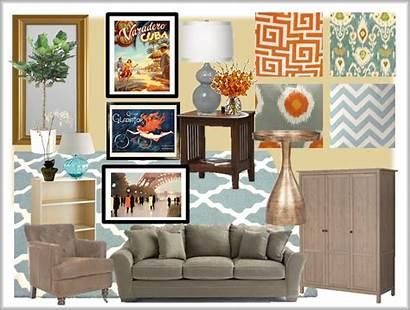 Living Inspiration Board Rooms Orange Envisioning Re