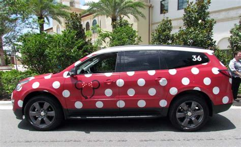 Disney's Minnie Van Service Arranges It's Own Lyft