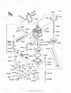 Kawasaki Atv 2002 Oem Parts Diagram For Carburetor