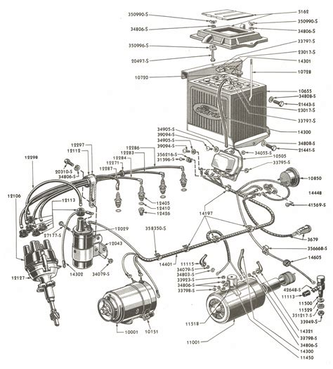 Electrical Wiring Parts For Ford Tractors Asn