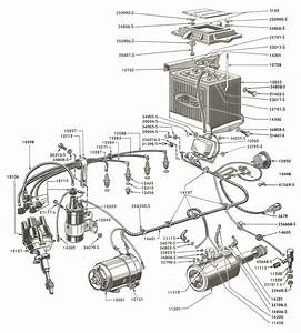 Ford 8n Tractor Distributor Cap Diagram