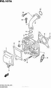 Cylinder For 2017 Suzuki Lt