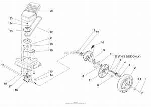 Toro 20016  22in Recycler Lawnmower  2005  Sn 250000001