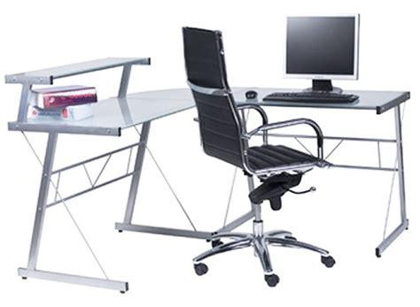 bureau en verre fly bureau en verre chez conforama bureau idées de