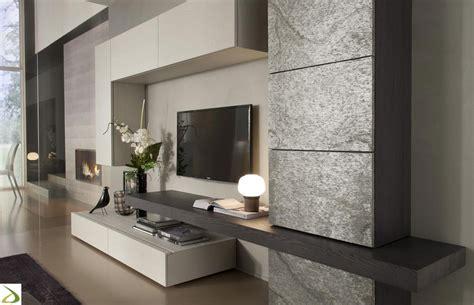 mobili soggiorno on line parete soggiorno in pietra arredo design