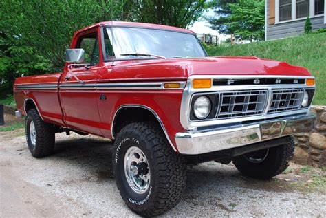ford truck this 1976 f 250 is close to ford truck perfection ford