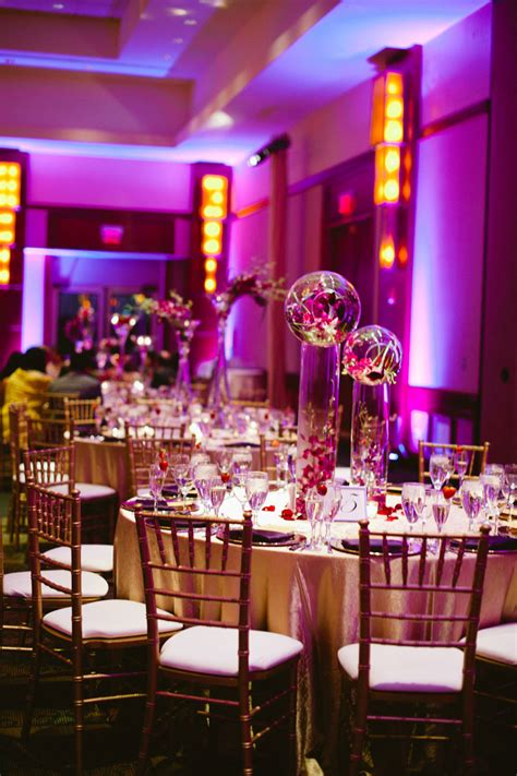 gold ideas for purple wedding decorations robs viva