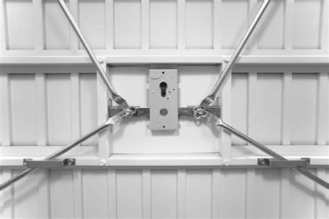 Securing Up And Garage Door by Garador Guardian Security Garage Doors Garage Door