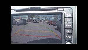 2012 Kia Sportage Backup Camera Demo