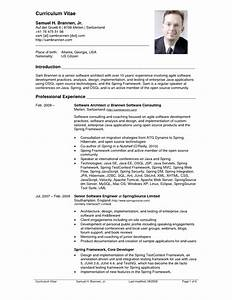 Doc Example Resume Latest Resumes Samples