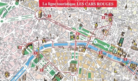 paris top tourist attractions map  city sightseeting