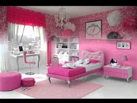 pink wallpaper design ideas  girls room youtube