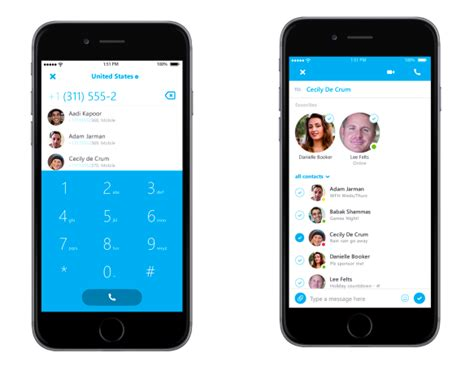 skype for iphone skype updates iphone app for quicker calling starts