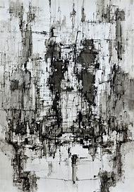Achromatic Abstract Art