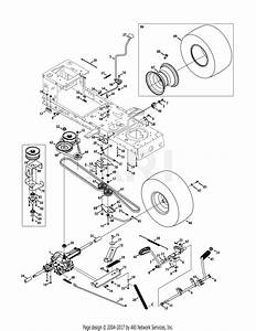 Troy Bilt 13wx78ks011 Bronco  2011  Parts Diagram For