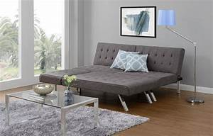 futon sofa lounger sectional chaise gray sleeper bed With convertible sofa bed grey sectional sofa with chaise nyfu