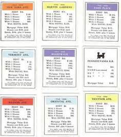 monopoly    jail  card printable quality