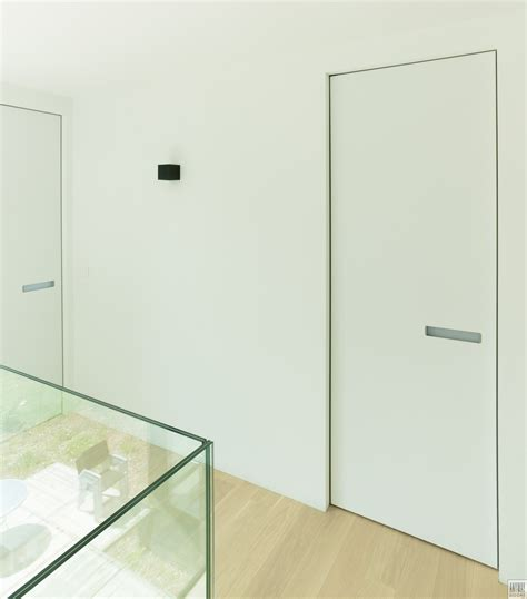 modern interior doors with an invisible door frame