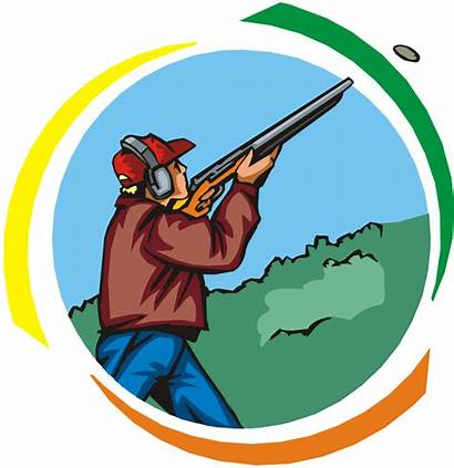 Shooting Skeet Clipart Trap Shooter Clip Clay