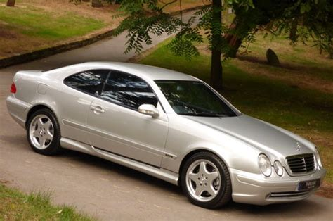 mercedes benz clk  amg  coupe   miles