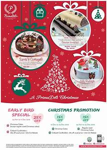 Christmas Promotion Poster Primadeli