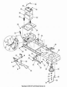 Mtd 13ao791g718  2005  Parts Diagram For Pto  U0026 Controls