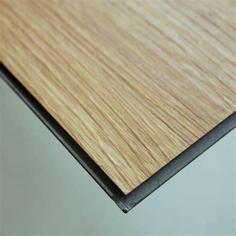 Click Vinyl by Looks Wooden Wear Resistance Pvc Click Vinyl Flooring For