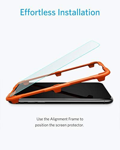 Anker Xs Case by Anker Glassguard Screen Protector For Iphone X Iphone Xs