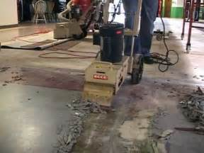 Electric Floor Scraper Machine by See The Edco Tile Shark Tile Remover In Action Youtube