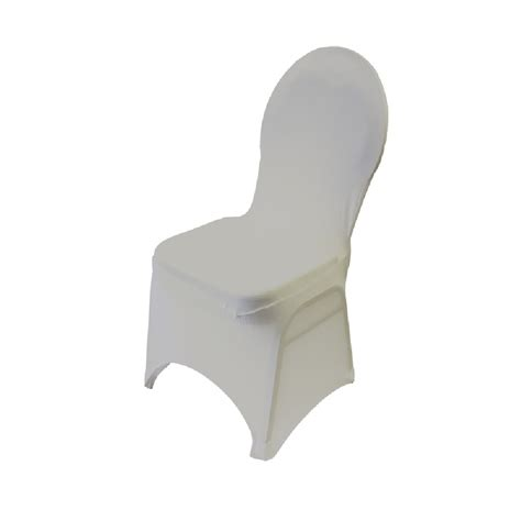 spandex banquet chair cover ivory prestige linens