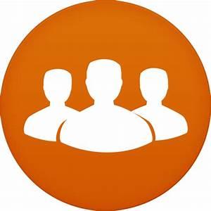 Contacts Icon | Circle Iconset | Martz90