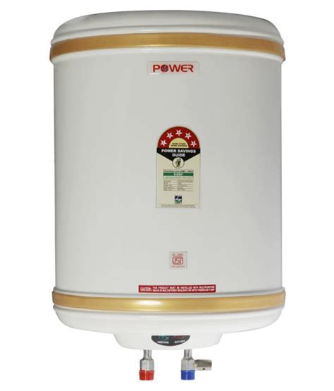 Power 25 Litre 5 Star Storage Water Heater Price in India