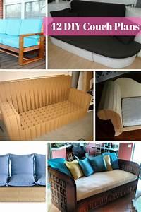 42 DIY Sofa Plans [Free Instructions] - MyMyDIY