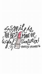 Inspired Idea: ... Lipstick And Smile Quotes