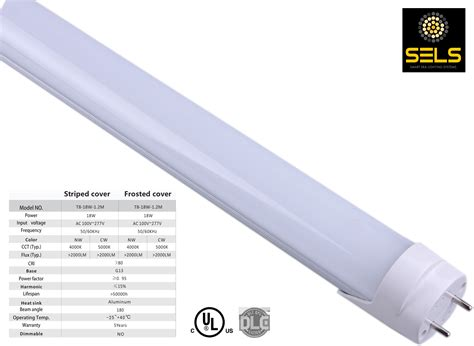 sels led 18 watts 4 ft t8 t12 fluorescent