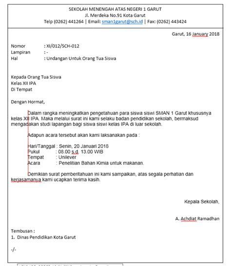 Contoh Surat Penawaran Bentuk Semi Block Style by Bentuk Bentuk Surat Dan Contohnya Administrasi Perkantoran