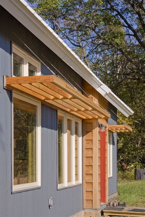 Window Shades For House by Passive Solar Cottage With A Trombe Wall Home Cottages