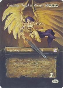 Mtg Altered Akroma Angel of Wrath Iban Bengoetxea by ...
