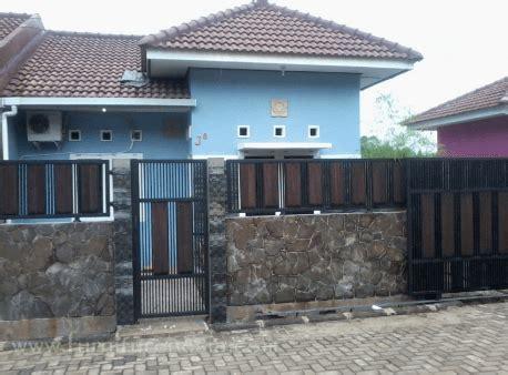 pagar tembok rumah minimalis type   harga batako