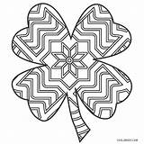 Shamrock Coloring Printable Adults Cool2bkids Everythingetsy Patrick sketch template