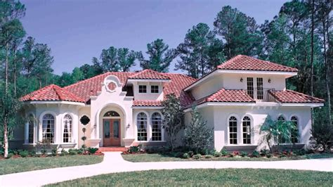 Modern Spanish Style House Plans