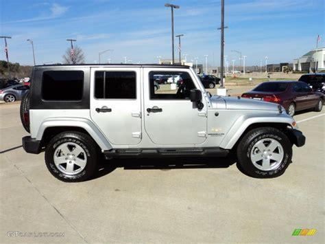 jeep sahara silver bright silver metallic 2007 jeep wrangler unlimited sahara