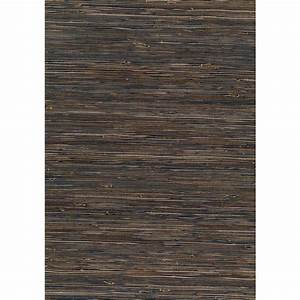 Kenneth James 8 in. x 10 in. Kasumi Slate Grasscloth ...