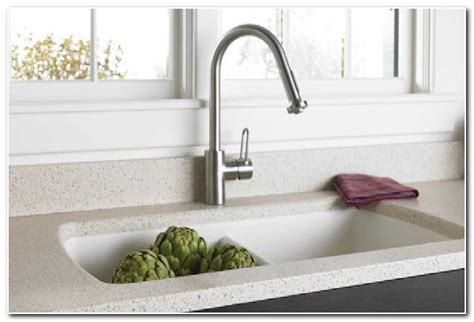 solid surface kitchen sinks formica solid surface integrated sink sink and faucet