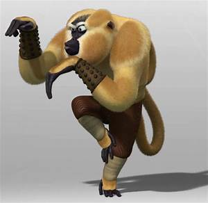Monkey From Kung Fu Panda | Kung fu panda character of the ...
