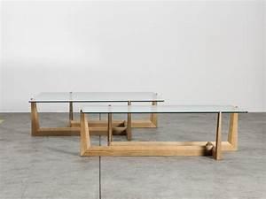Table En Verre Rectangulaire : gaudo table basse rectangulaire by miniforms design carlo contin ~ Teatrodelosmanantiales.com Idées de Décoration