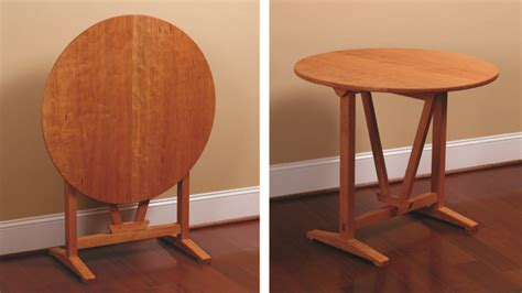 plan tilt top table finewoodworking