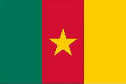Flag Cameroon Flags Symbol Eatlas Nylon Freedom